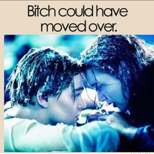 Finally! I'm not the only one who thought that!!!Rose, Movie Scene, Titanic, True Love, Kate Winslet, Leonardo Dicaprio, Jack O'Connel, Favorite Movie, Lets Go