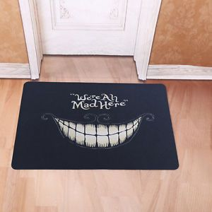 Funny Door Mat Rubber Floor Rug Non-slip Pad Home Indoor Outdoor Doormat Carpet
