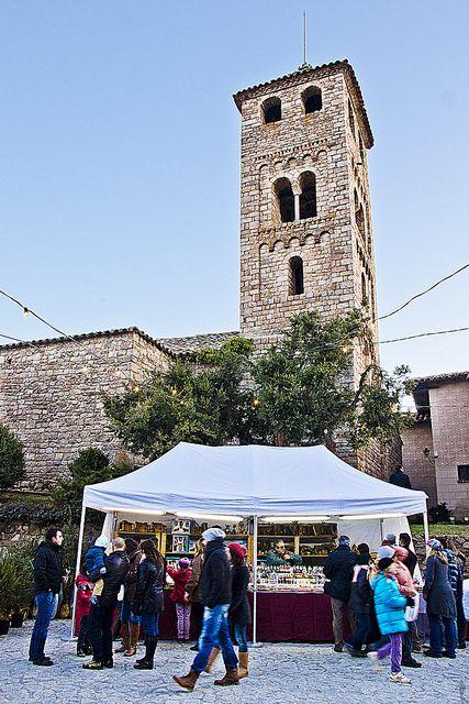Fira de l'avet d'Espinelves (Christmas Market ) Montseny   Catalonia