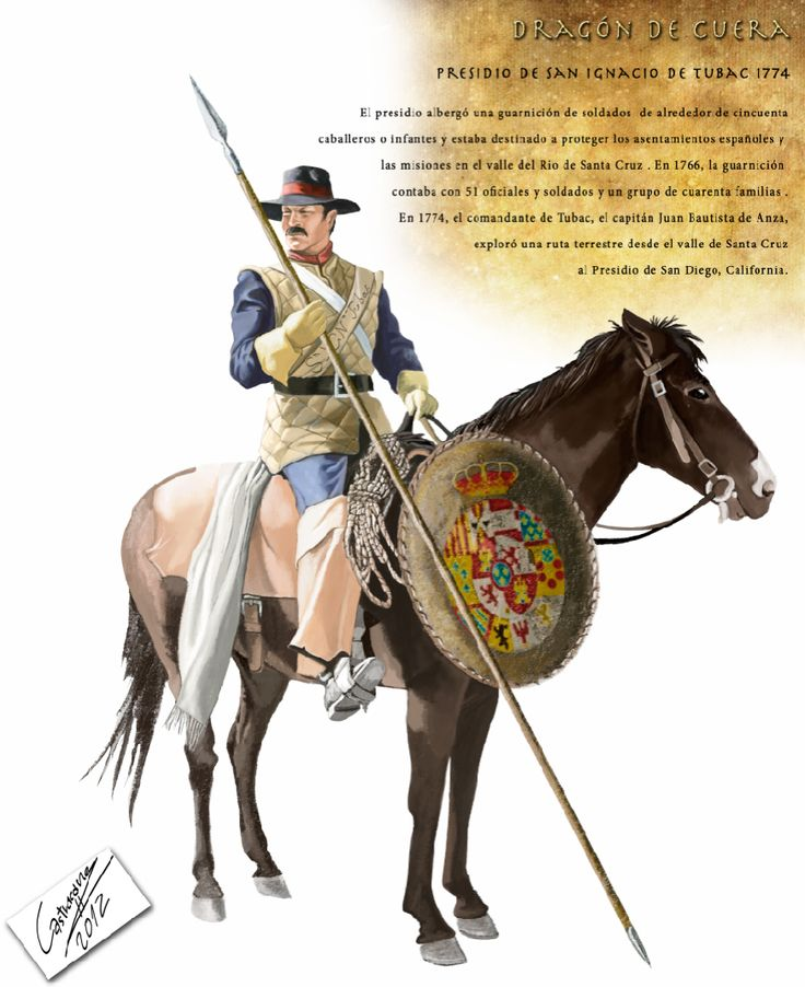 Los Dragones de Cuera – El primer Lejano Oeste | Grupo de Estudios de Historia…