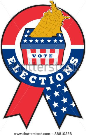 Best Election Clip Art Images On Pinterest Clip Art Vector - Us electoral map vector graphic