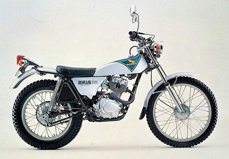 1973 Honda TL 125 Baiarusu
