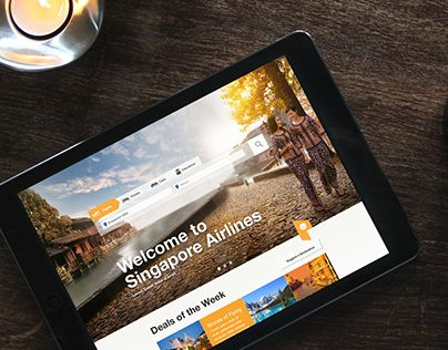 """Check out this @Behance project: """"Singapore Airlines 