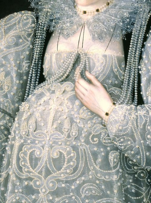 slojnotak:  Attributed to Marcus Gheeraerts II -Portrait of an Unknown Lady (1595)