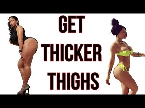 How to Get Thicker Thighs | 5 Workouts For Sexy Thunderous Legs! - YouTube