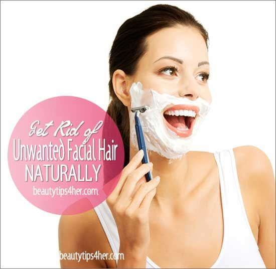 Natural Way to Remove Excessive / Unwanted Facial Hair | Beauty and MakeUp Tips