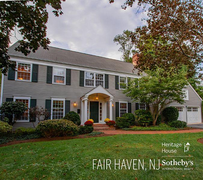 Featured Property Fair Haven Nj Heritage House Fair Haven