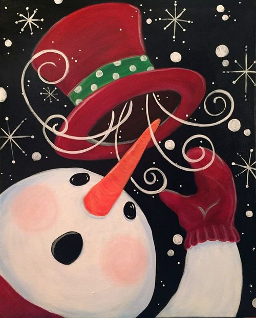 Frosty's Magic Hat  WHEN YOU SEE A SNOW MAN DON'T YOU JUST FEEL HAPPY...THEN MAYBE A BIT CHILLY???
