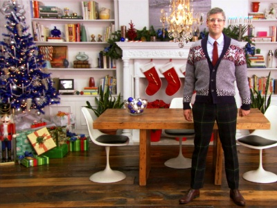 I'd like Mo Rocca at my holiday party please.