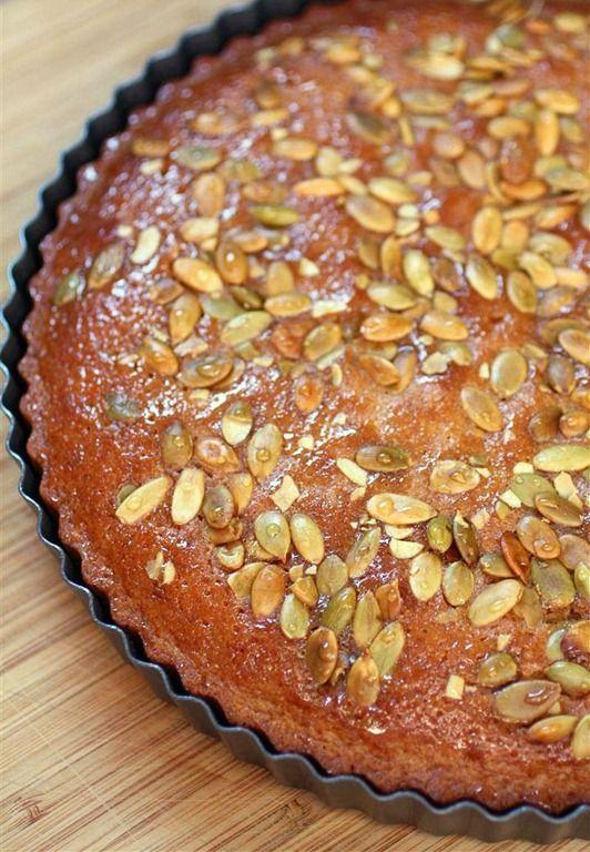 Pumpkin Butter Honey Cake