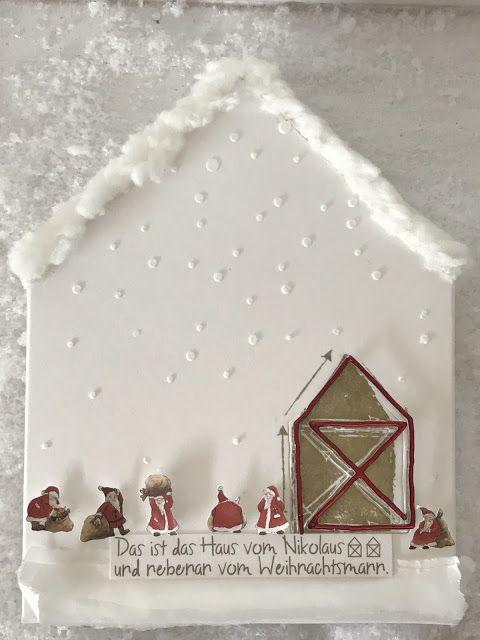 Papier-Liebelei: Mein Haus vom Nikolaus