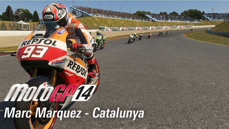 We take to the Catalunya track as Marc Márquez in MotoGP 14! This was a Grand Prix race on the PS4 version.