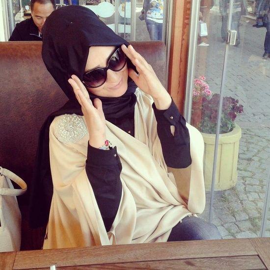 hijab sunglasses