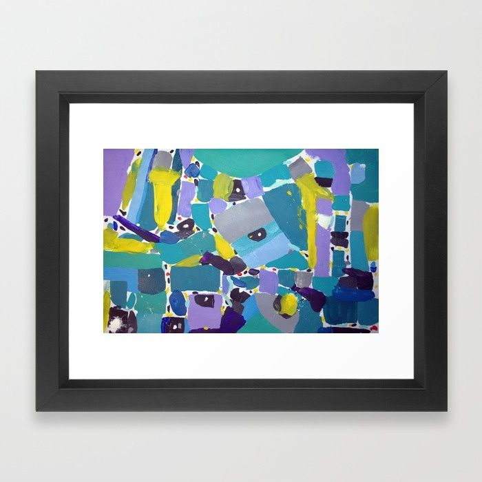 Abstract art, home decor.