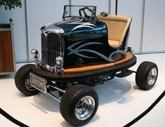 Bumper Car Tom Wright Lusse Auto-Scooter 1953 Police car vl - Google Search