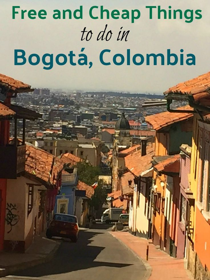 Free and Cheap Things to Do in Bogotá, Colombia