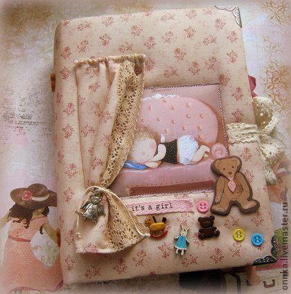 Блокноты ручной работы. Ярмарка Мастеров - ручная работа Детский дневник. Handmade.