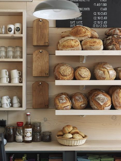 Two Magpies Bakery by Paul Crofts Studio -   http://dunobakery.blogspot.com