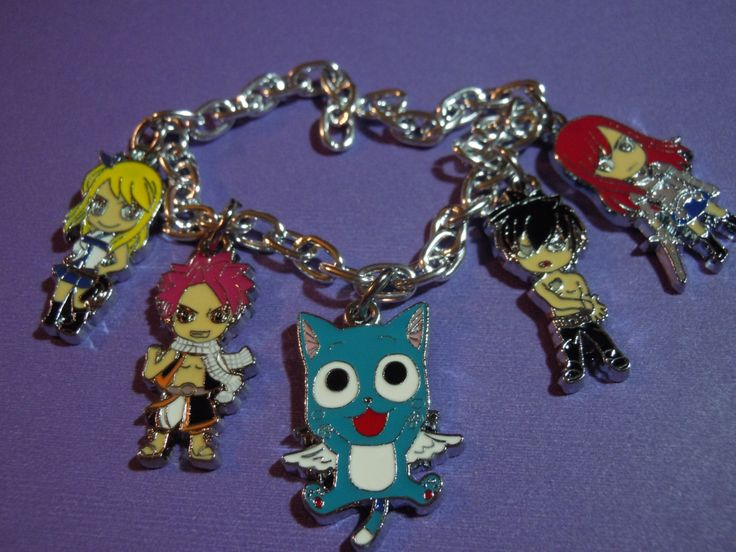 Fairy tail bracelet anime charm bracelet fairy tail