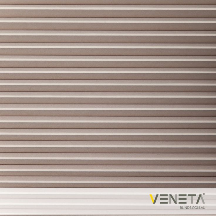 Veneta Blinds : Honeycomb Blinds Colour : TAUPE