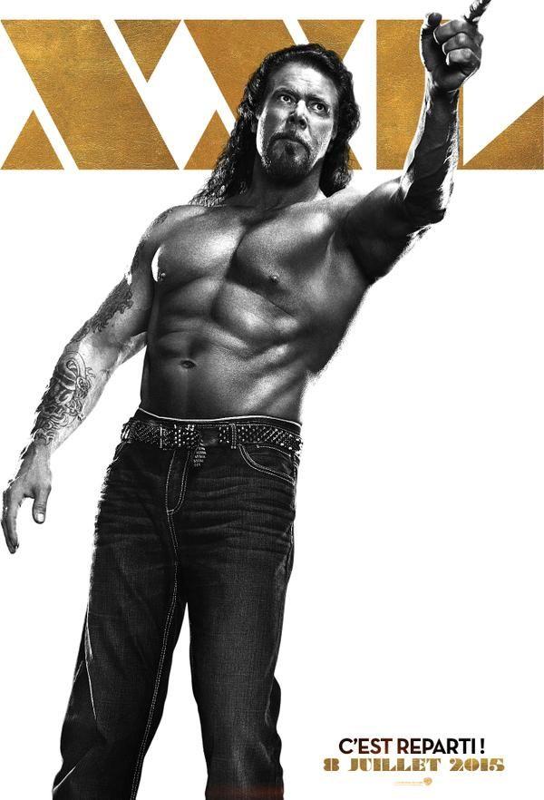 Kevin Nash s'affiche pour Magic Mike XXL