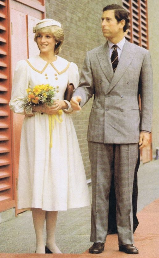 1983-06-15 Diana and Charles open a new ship repair unit at the Royal Canadian Navy Dockyard in Halifax