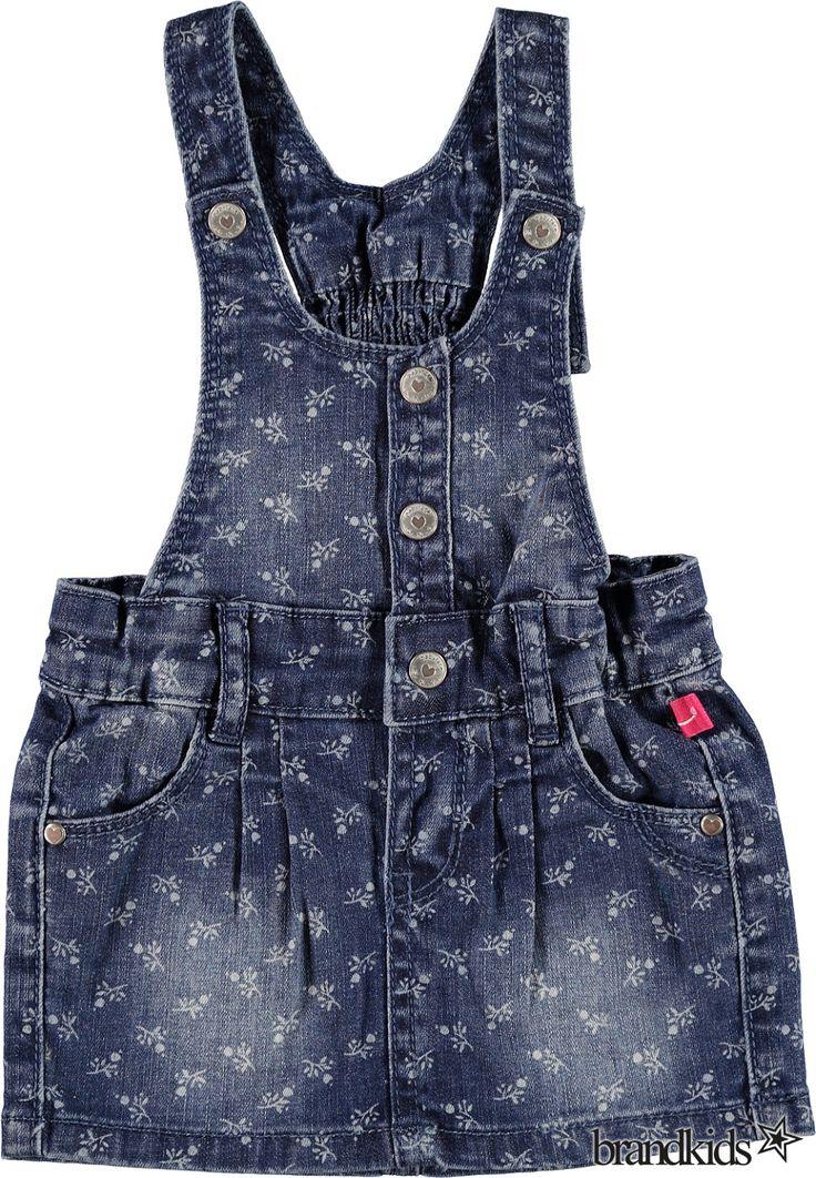 Babyface A-lijn jurk blauw - Meisjes Baby Baby Jurken €29,95