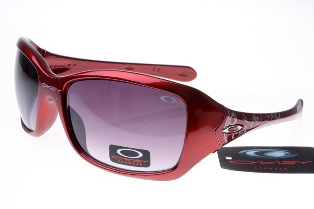 Oakley Womens Sunglasses Dark Red Frame Gray Lens 1212 [ok-2237] - $12.50 : Cheap Sunglasses,Cheap Sunglasses On sale