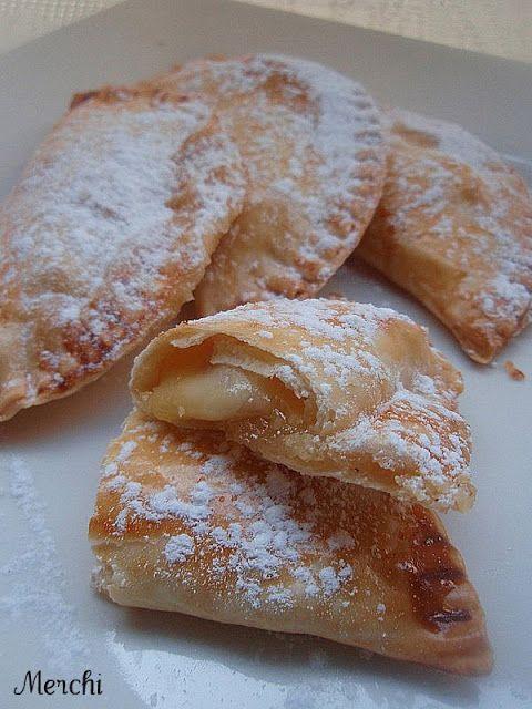 Con sabor a canela: Empanadillas dulces de queso y membrillo