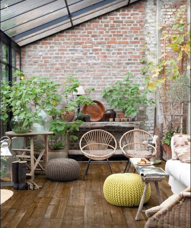 Pin de nat camed en organic deco pinterest terrazas - Invernadero en terraza ...
