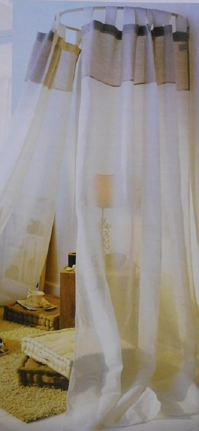Les 25 meilleures id es de la cat gorie tringles rideaux sur pinterest tringles rideaux - Ciel de lit fer forge ...