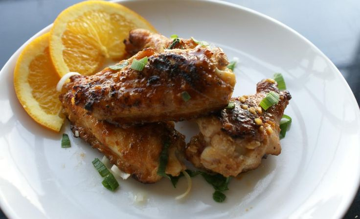 images of asian appetizers | Sweet and Spicy Chicken Wings