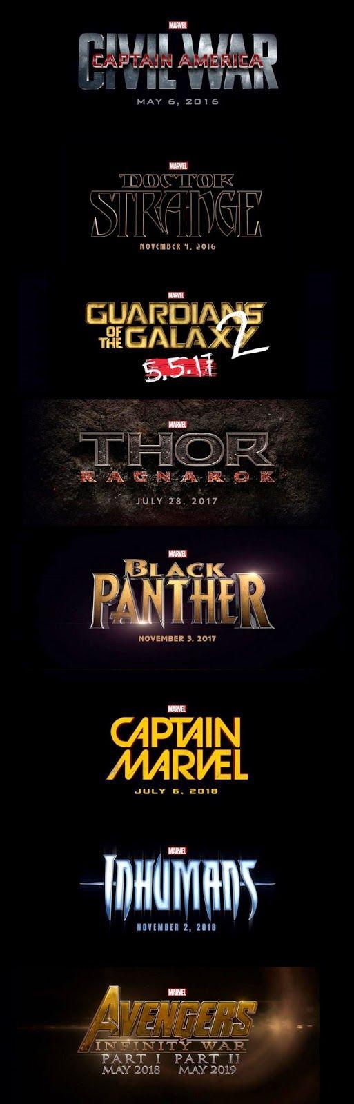 TavernaPOP!: Marvel anuncia lançamentos de filmes de seus perso...