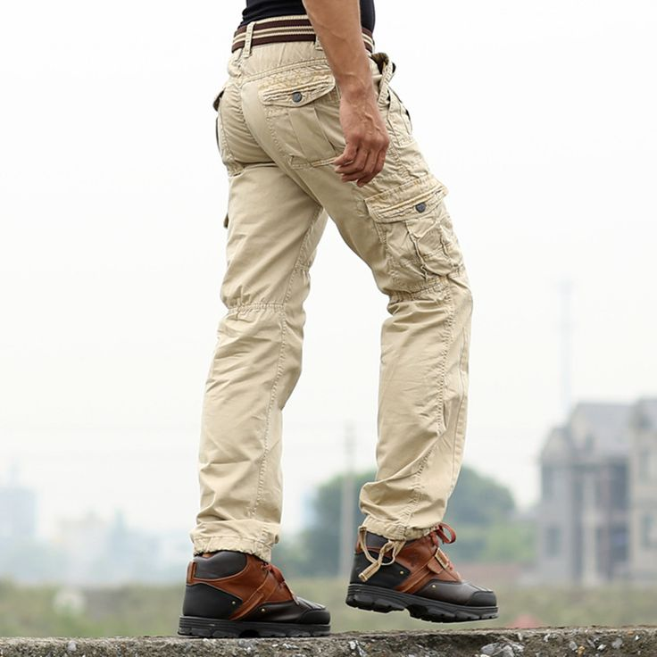==> [Free Shipping] Buy Best New Sweatpants Men's Casual Cargo Pants Cotton Emoji joggers sweatpants Military Army Green pants Fashion 2016 Online with LOWEST Price | 32356006507
