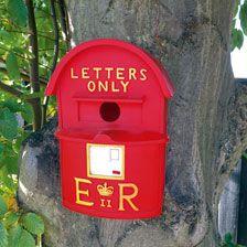 Nistkasten 'Letter Box'        bestellen - THE BRITISH SHOP - typisch englisches Produkt 'very british'