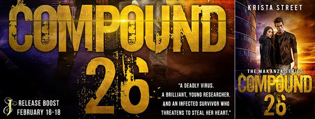 Abibliophobia Anonymous                 Book Reviews: **RELEASE BOOST**  Compound 26 by Krista Street