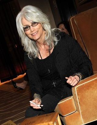 Emmylou Harris- love the silver AND the cut