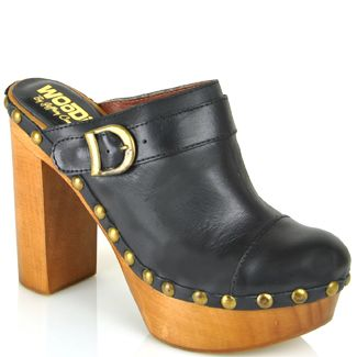 .: Clogs, Clothes I D, Black Leather, Jeffrey Campbell, Products, Wear