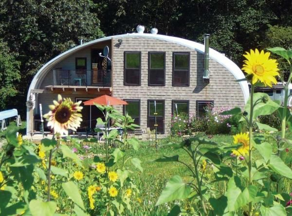 For Less Than $35K, We Built a Quonset Hut Home - Homesteading and Livestock - MOTHER EARTH NEWS