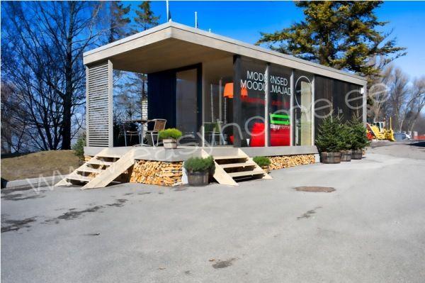 small modular homes... Садовые домики и маленькие дома   Частный дом