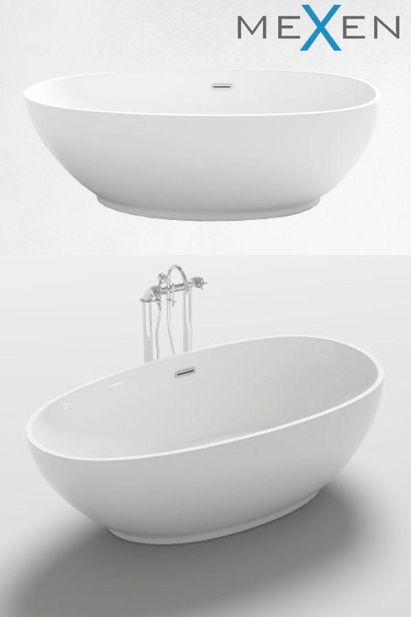 Mexen Bilbao Wanna Wolnostojaca 180 X 90 Cm 51311809000 Bilbao Bathtub 90 S