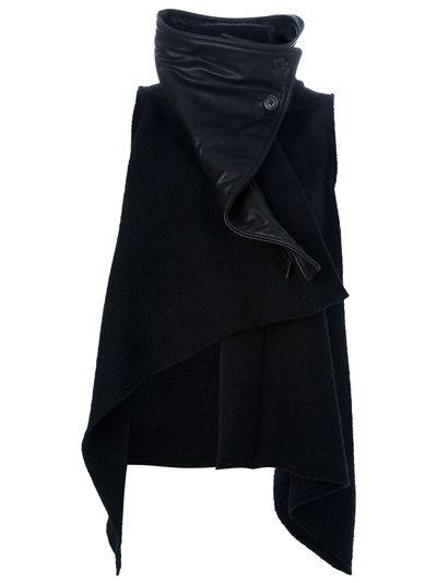 ANN DEMEULEMEESTER 'Sibil' Asymmetric Jacket