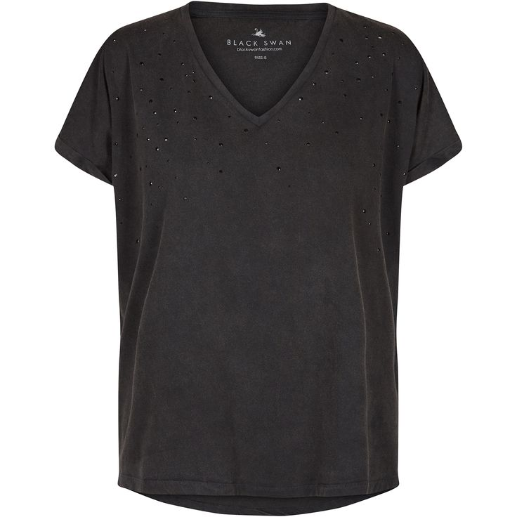 Ida tee black swan fashion