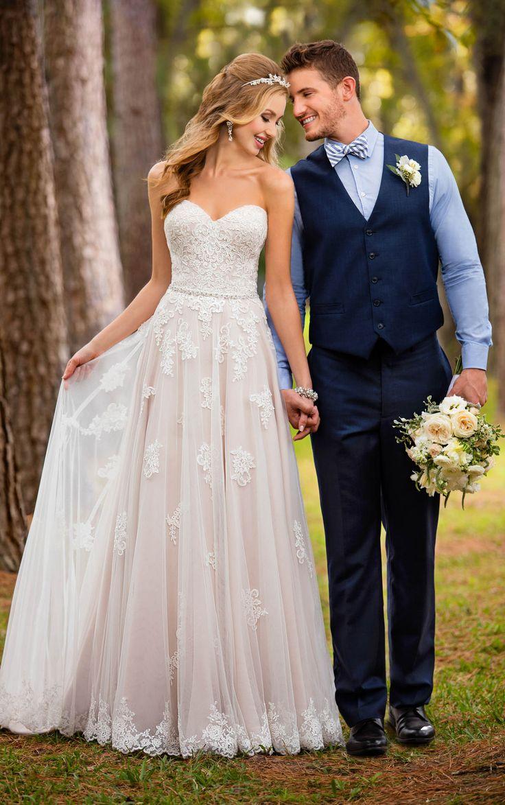 549 best wedding style images on pinterest bohemian for Stella york convertible wedding dress