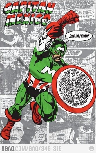Meanwhile in Mexico// el heroe mas chingon XD