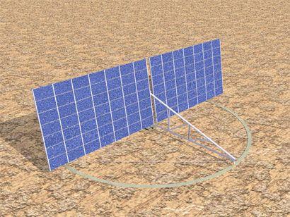 Cabanillas Ingenieros, S.L. ha diseñado y desarrollado el seguidor solar a dos ejes Titan Tracker. Este seguidor solar aporta muy importantes novedades al estado actual de la técnica.  (Enllave 04/07/2007)