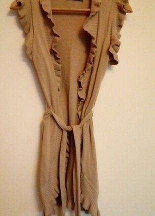 Kup mój przedmiot na #vintedpl http://www.vinted.pl/damska-odziez/dlugie-swetry/15980219-narzutka-kardigan-bez-falbany-sm-sweter-dlugi
