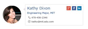 Email Signature For College Students