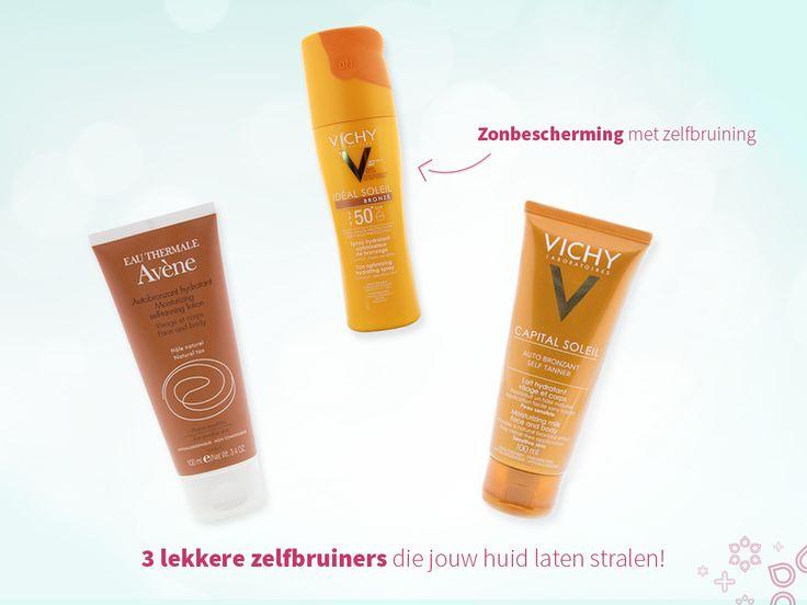 Mooi bruin na je vakantie? Deze zelfbruiners geven je een egale en natuurlijke sunkissed look. Shop ze bij: https://www.zorgvoormijnhuid.nl/
