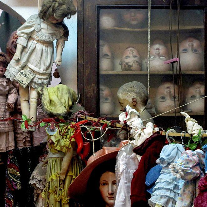 Napoli, Ospedale delle Bambole - Naples Doll Hospital